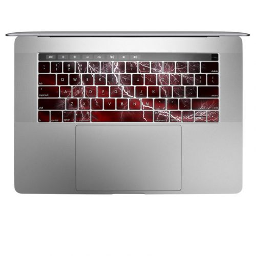 Apocalypse Red MacBook Keyboard Skin