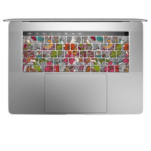 Doodles Color MacBook Keyboard Skin