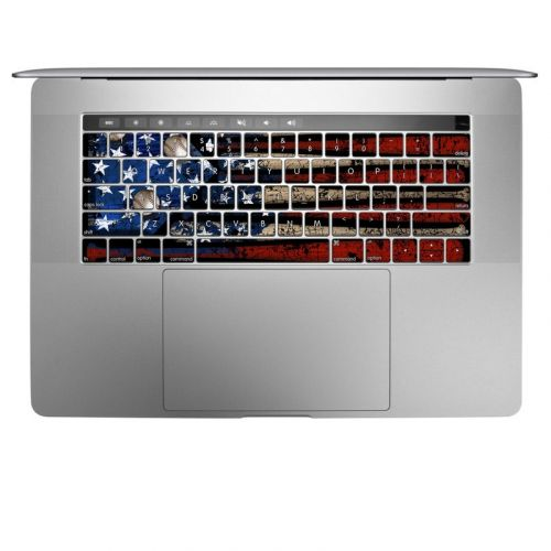 Old Glory MacBook Keyboard Skin