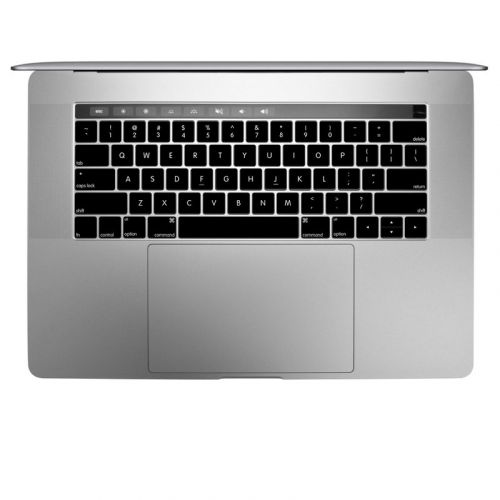 Solid State Black MacBook Pro Pre 2020 Keyboard Skin