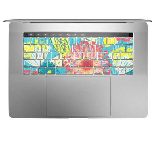 Tickled Peach MacBook Keyboard Skin