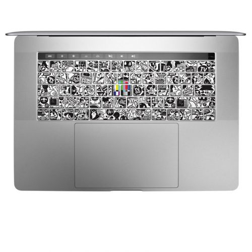 TV Kills Everything MacBook Keyboard Skin