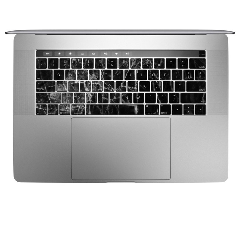 Black Marble MacBook Keyboard Skin