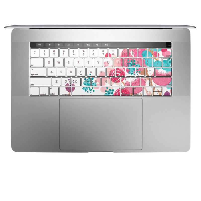 Blush Blossoms MacBook Keyboard Skin