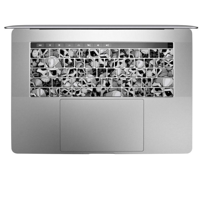 Bones MacBook Keyboard Skin