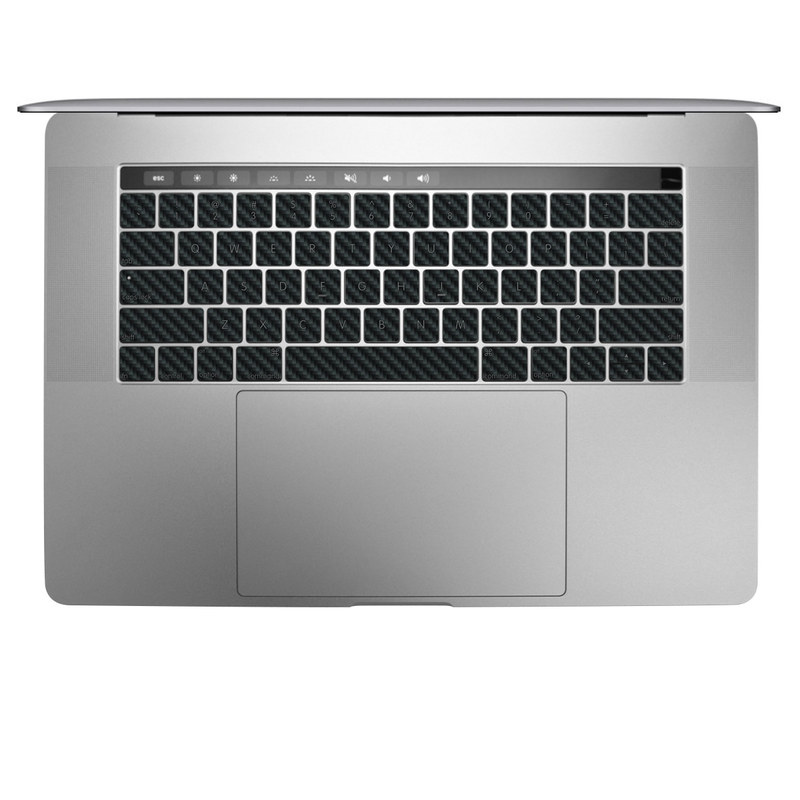 Carbon MacBook Keyboard Skin
