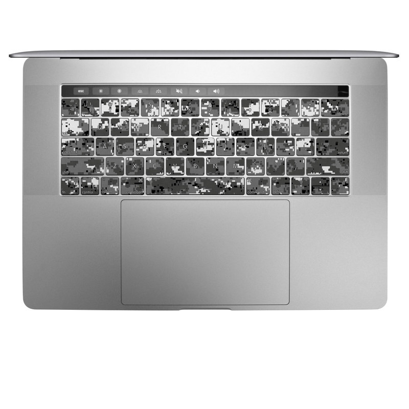 Digital Urban Camo MacBook Keyboard Skin