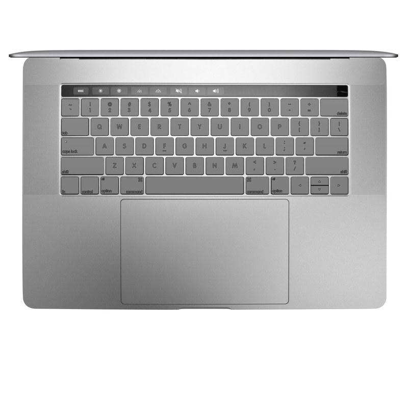 Solid State Grey MacBook Keyboard Skin