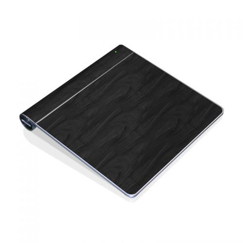 Black Woodgrain Apple Magic Trackpad Skin