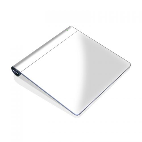 Solid State White Apple Magic Trackpad Skin