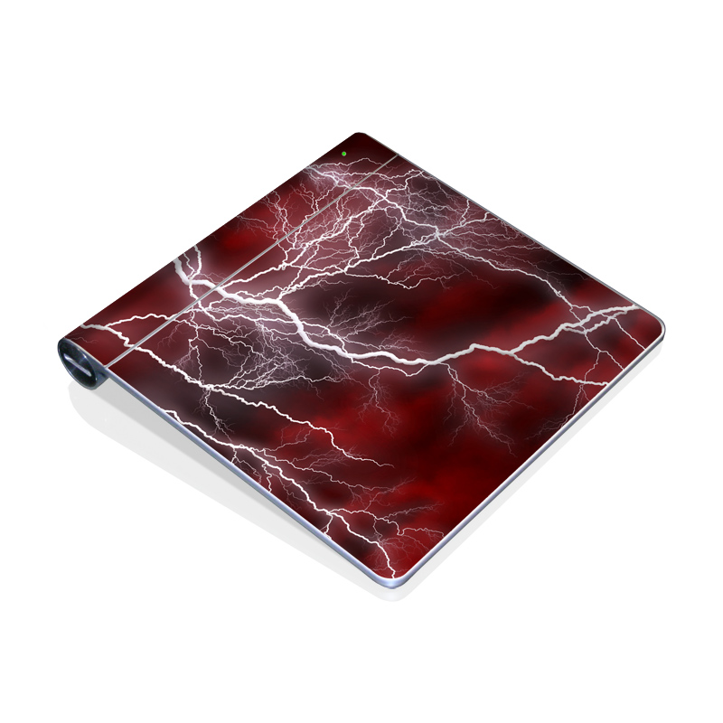Apocalypse Red Apple Magic Trackpad Skin