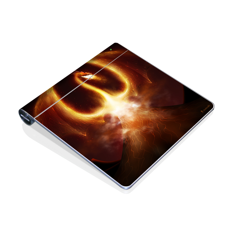 Fire Dragon Apple Magic Trackpad Skin