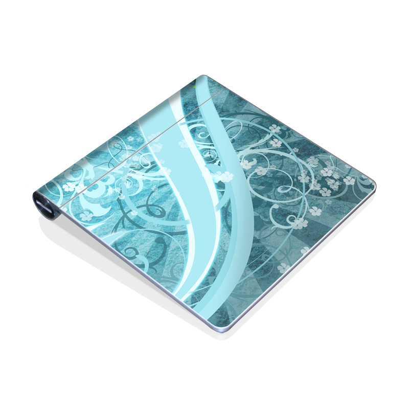 Flores Agua Apple Magic Trackpad Skin