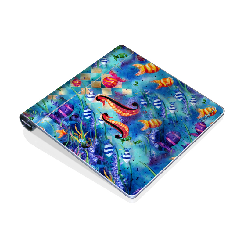 Harlequin Seascape Apple Magic Trackpad Skin
