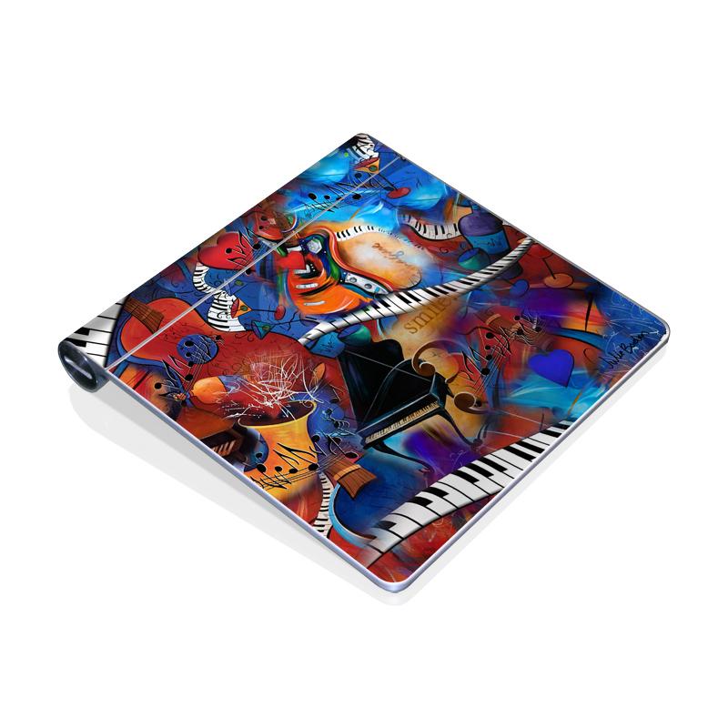 Music Madness Apple Magic Trackpad Skin
