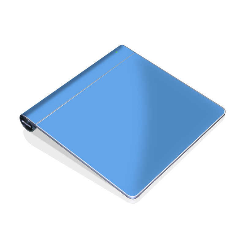 Solid State Blue Apple Magic Trackpad Skin
