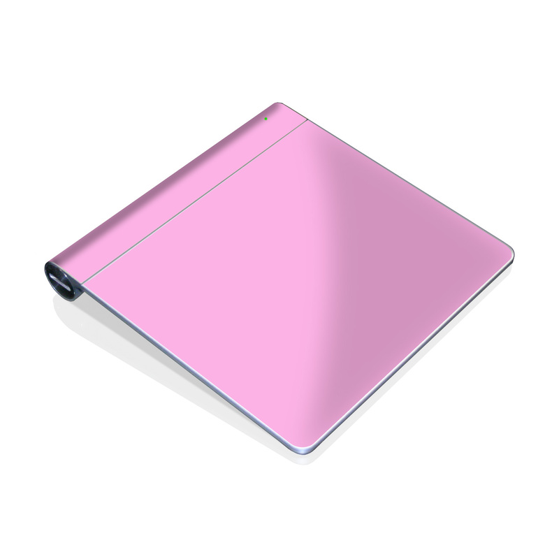 Solid State Pink Apple Magic Trackpad Skin