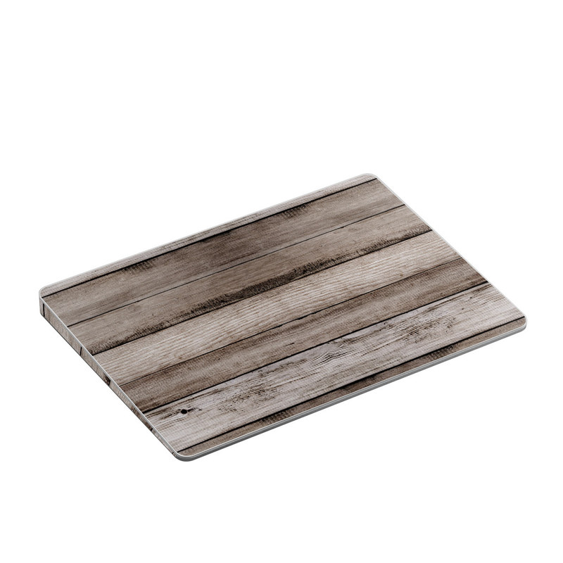 Apple Magic Trackpad 2 Skin design of Wood, Plank, Wood stain, Hardwood, Line, Pattern, Floor, Lumber, Wood flooring, Plywood with brown, black colors