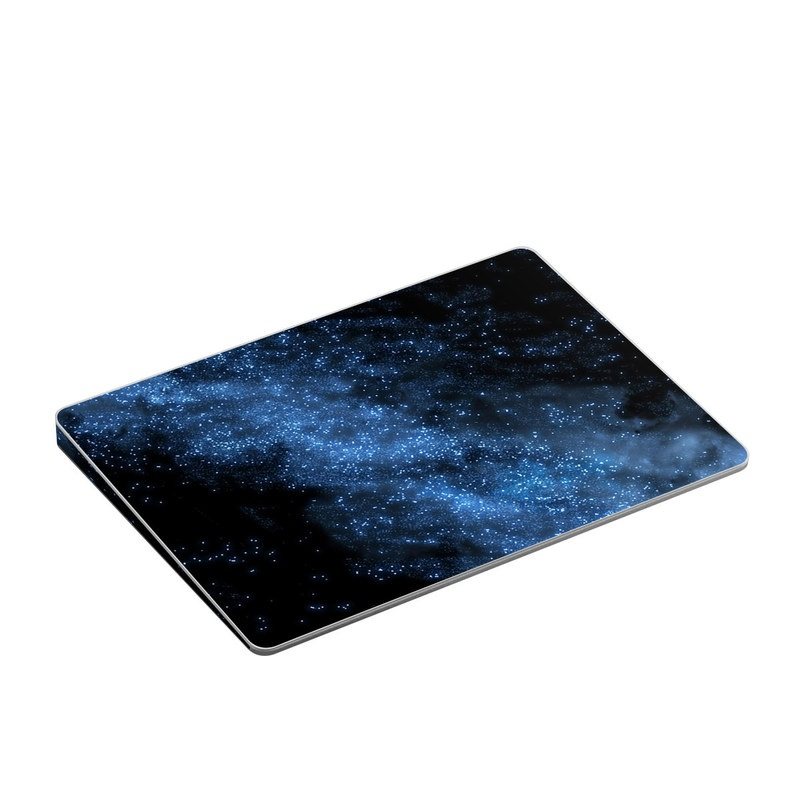 Apple Magic Trackpad 2 Skin design of Sky, Atmosphere, Black, Blue, Outer space, Atmospheric phenomenon, Astronomical object, Darkness, Universe, Space with black, blue colors