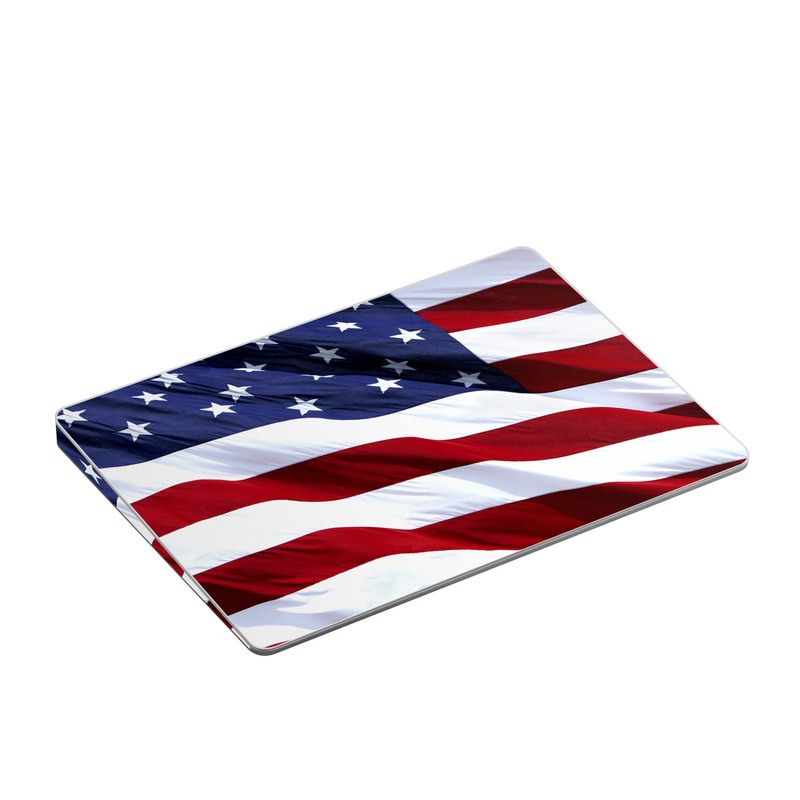 Patriotic Apple Magic Trackpad 2 Skin