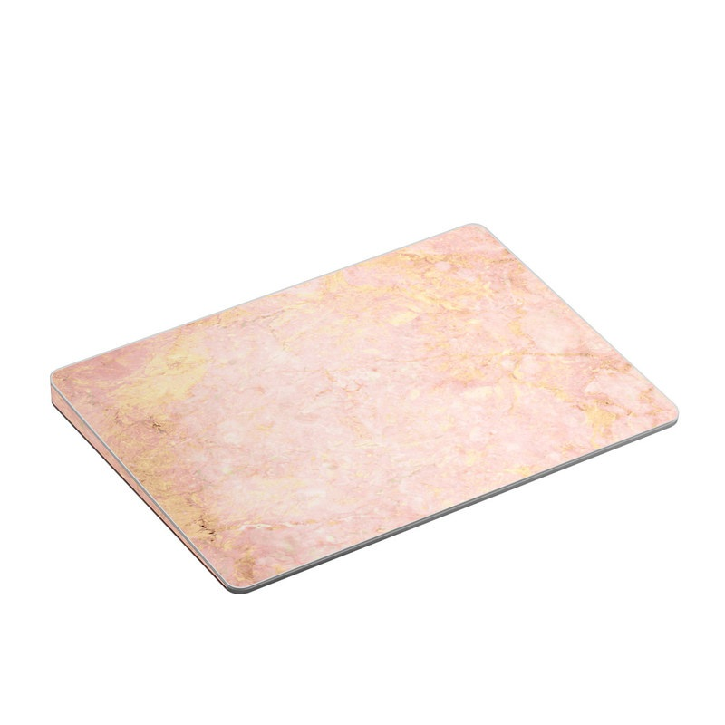 Apple Magic Trackpad 2 Skin design of Pink, Peach, Wallpaper, Pattern with pink, yellow, orange colors