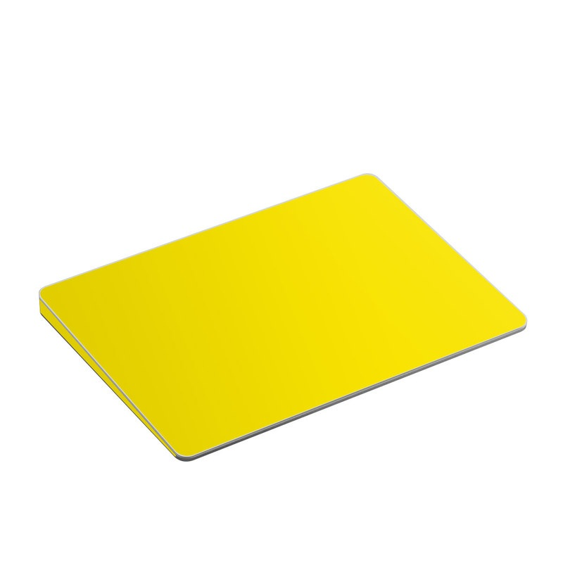 Solid State Yellow Apple Magic Trackpad 2 Skin