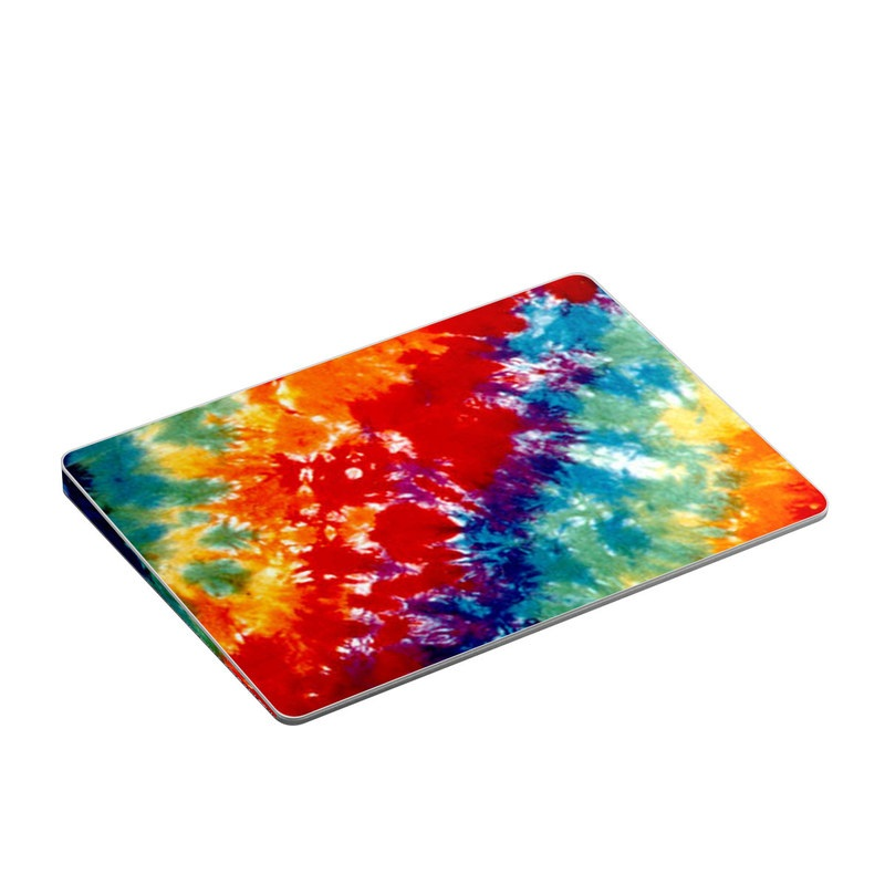 Apple Magic Trackpad 2 Skin design of Orange, Watercolor paint, Sky, Dye, Acrylic paint, Colorfulness, Geological phenomenon, Art, Painting, Organism with red, orange, blue, green, yellow, purple colors