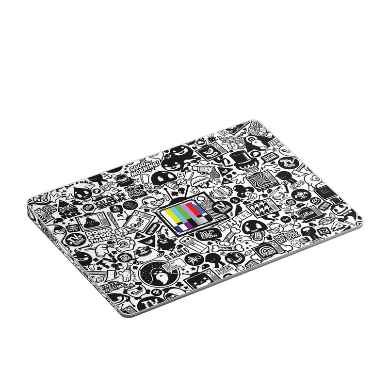 Apple Magic Trackpad 2 Skin design of Pattern, Drawing, Doodle, Design, Visual arts, Font, Black-and-white, Monochrome, Illustration, Art with gray, black, white colors