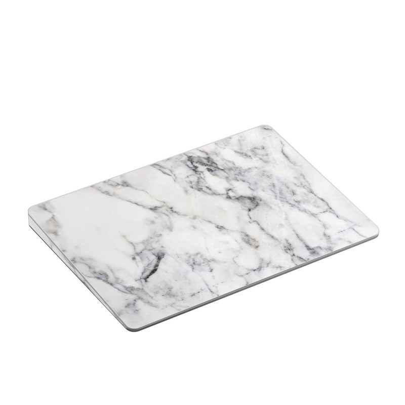 White Marble Apple Magic Trackpad 2 Skin