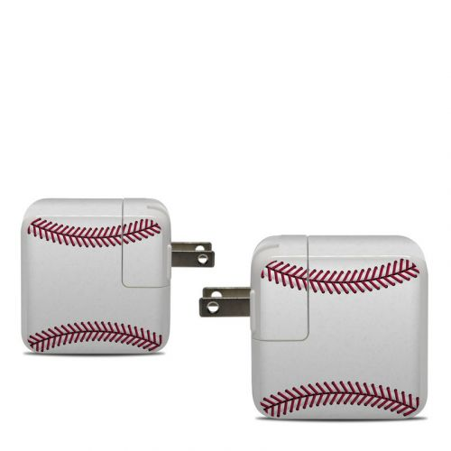 Baseball Apple 30W USB-C Power Adapter Skin