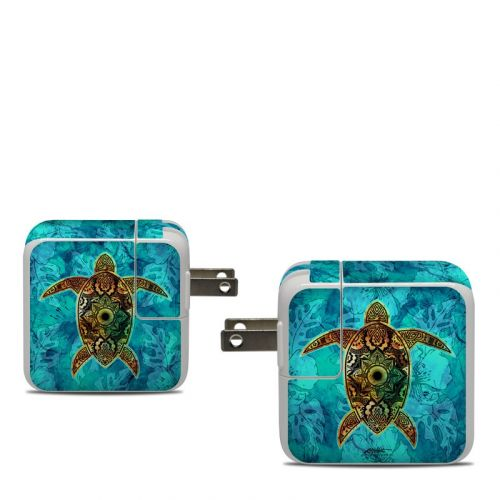 Sacred Honu Apple 30W USB-C Power Adapter Skin