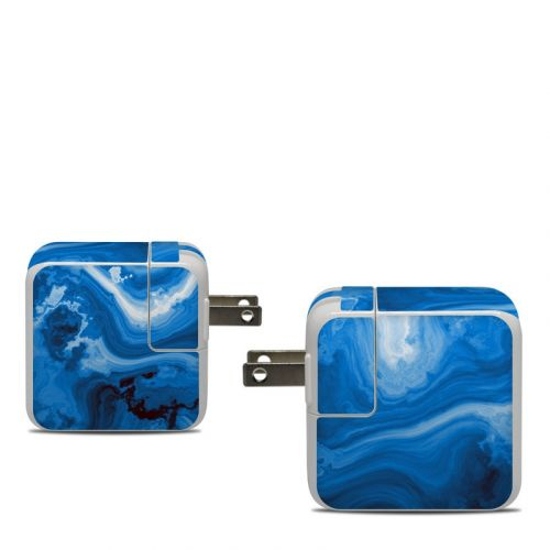 Sapphire Agate Apple 30W USB-C Power Adapter Skin