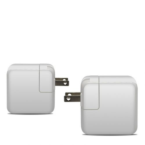 Solid State White Apple 30W USB-C Power Adapter Skin