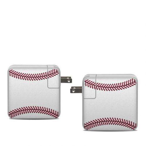 Baseball Apple 61W USB-C Power Adapter Skin