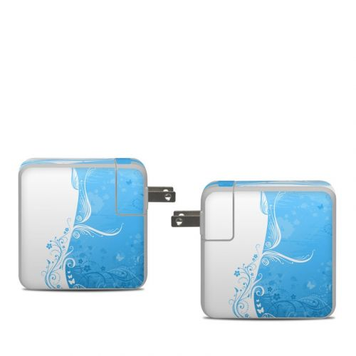 Blue Crush Apple 61W USB-C Power Adapter Skin