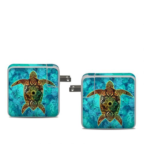 Sacred Honu Apple 61W USB-C Power Adapter Skin