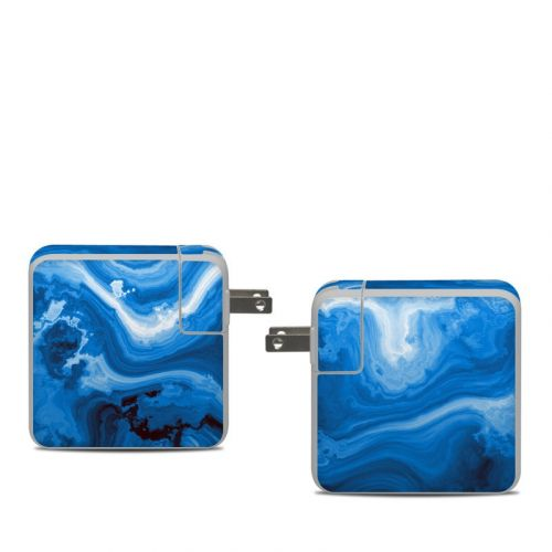 Sapphire Agate Apple 61W USB-C Power Adapter Skin