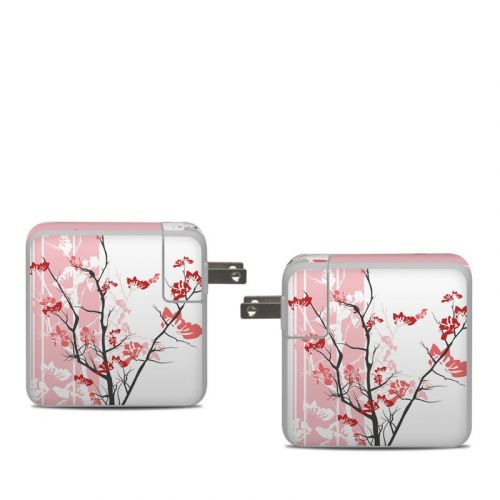 Pink Tranquility Apple 61W USB-C Power Adapter Skin