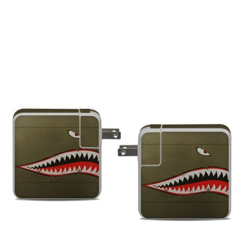 USAF Shark Apple 61W USB-C Power Adapter Skin