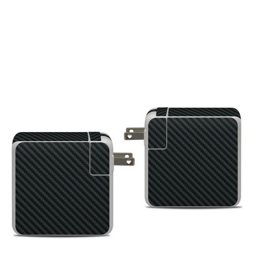 Carbon Apple 87W USB-C Power Adapter Skin