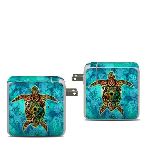 Sacred Honu Apple 87W USB-C Power Adapter Skin