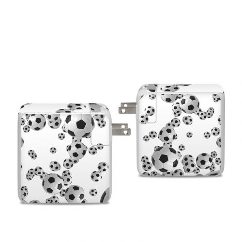 Lots of Soccer Balls Apple 96W USB-C Power Adapter Skin