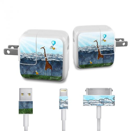 Above The Clouds iPad Power Adapter, Cable Skin