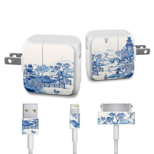 Blue Willow Apple 12W USB Power Adapter Skin
