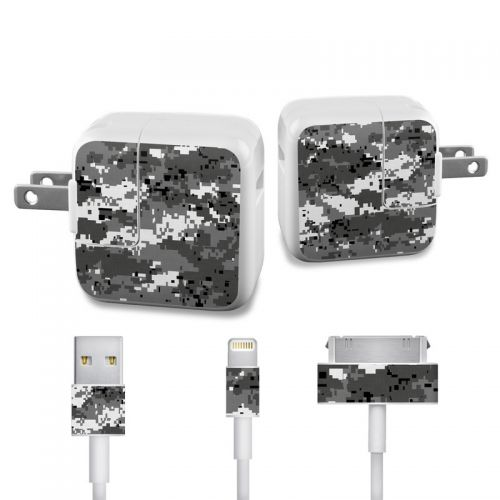 Digital Urban Camo iPad Power Adapter, Cable Skin