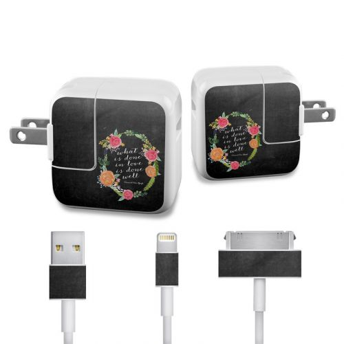 Love Done Well iPad Power Adapter, Cable Skin