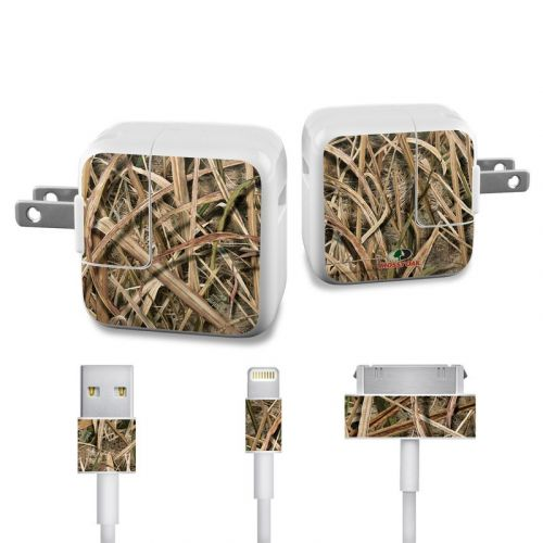 Shadow Grass Blades Apple 12W USB Power Adapter Skin
