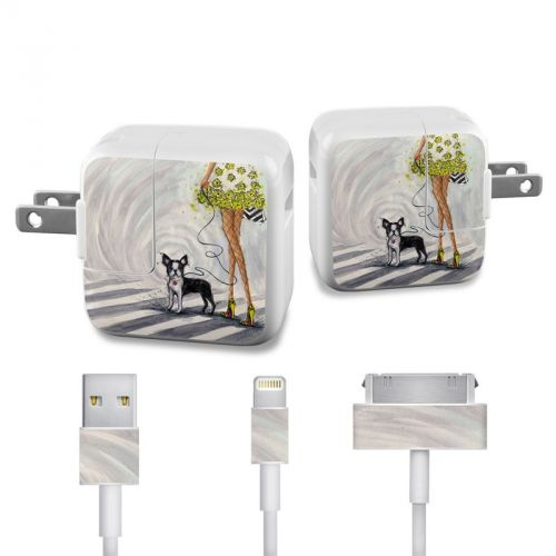 Hello New York iPad Power Adapter, Cable Skin
