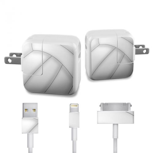 Volleyball iPad Power Adapter, Cable Skin