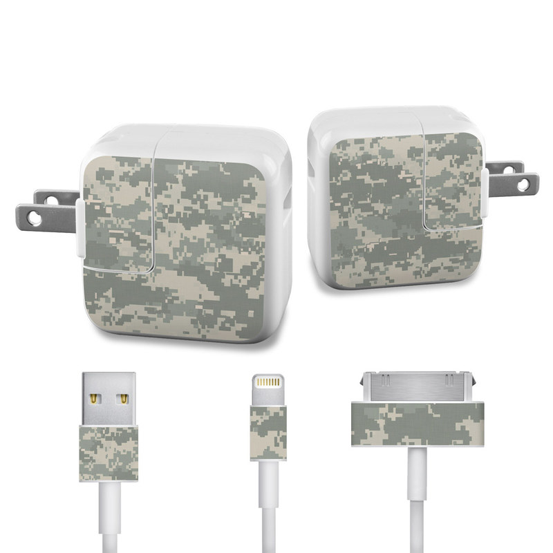 ACU Camo iPad Power Adapter, Cable Skin